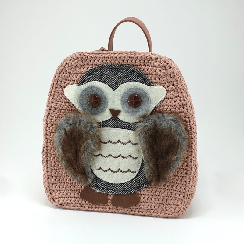 Pink Owl backpack kit by Younique Lab a n